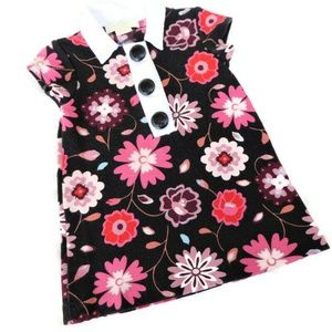 Kate Spade Dress Floral Button Snap Baby 12m